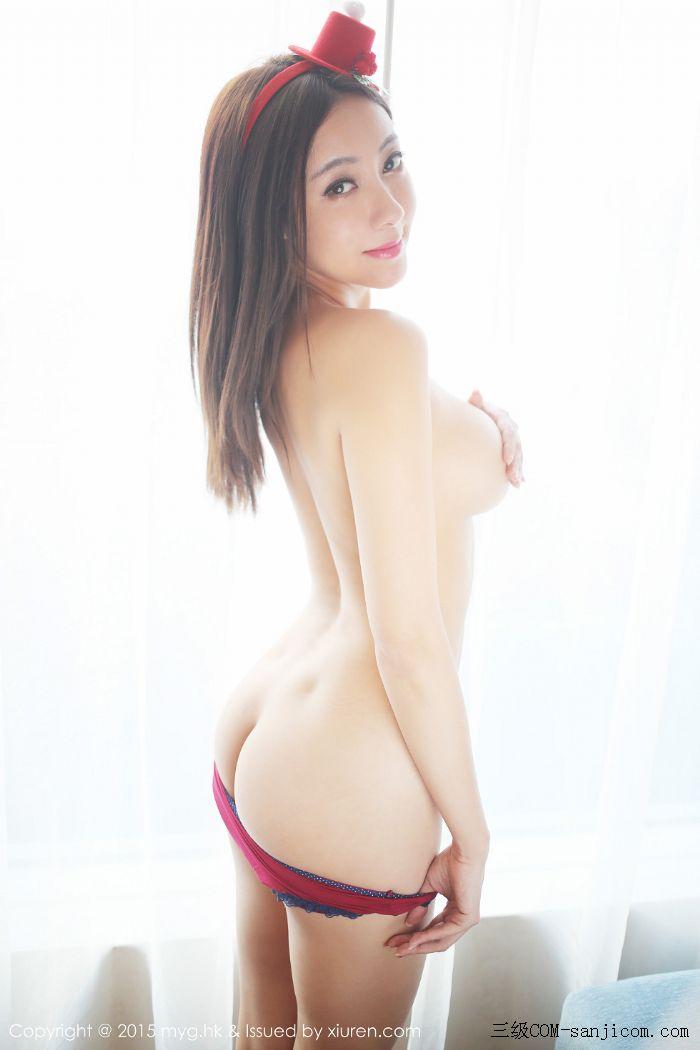 [MyGirl美媛馆]Vol.185_巨乳嫩模松果儿Victoria半裸上身遮胸诱人豪乳迷人翘臀诱惑写真[40/48]