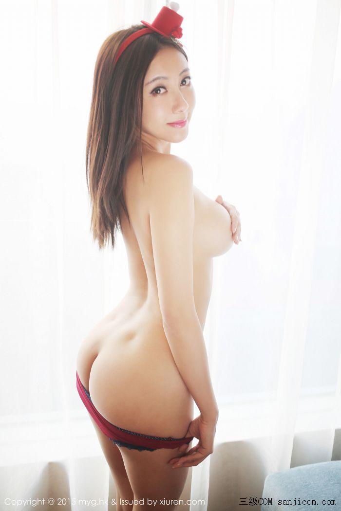 [MyGirl美媛馆]Vol.185_巨乳嫩模松果儿Victoria半裸上身遮胸诱人豪乳迷人翘臀诱惑写真[41/48]