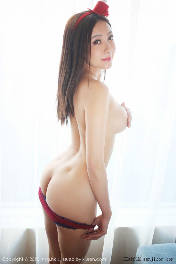 [MyGirl美媛馆]Vol.185_巨乳嫩模松果儿Victoria半裸上身遮胸诱人豪乳迷人翘臀诱惑写真[43/48]