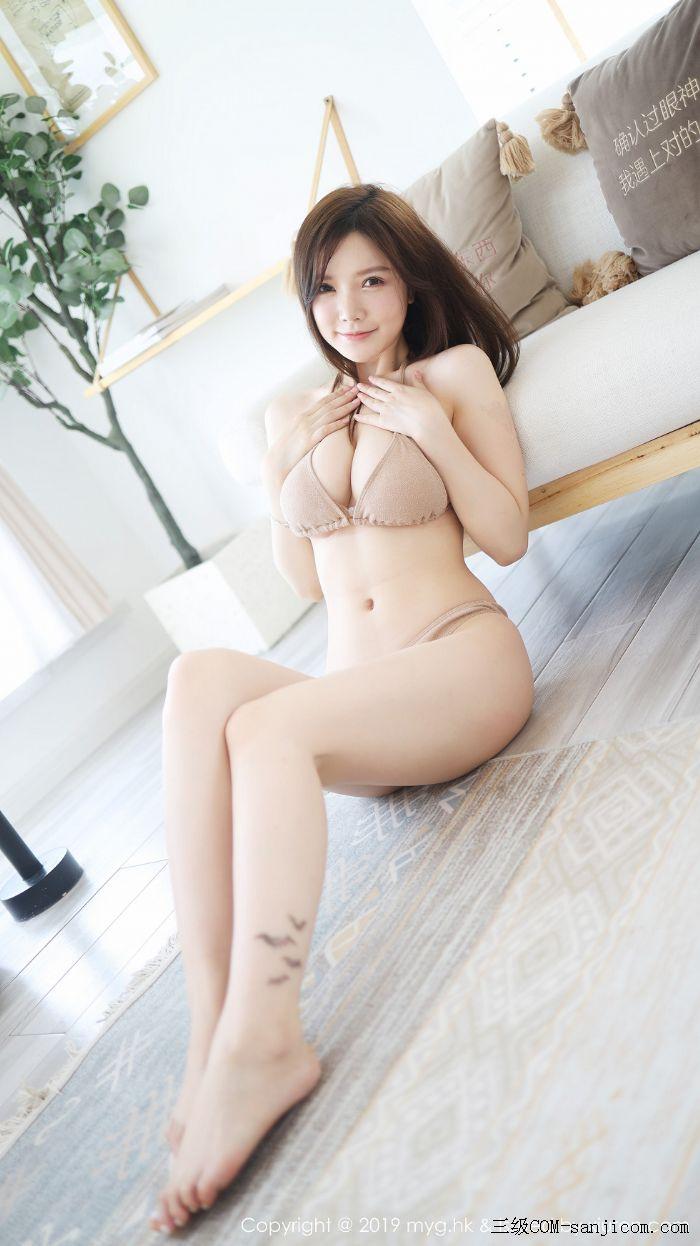[MyGirl美媛馆]Vol.398_嫩模糯美子Mini私房性感肉色内衣秀豪乳翘臀完美诱惑写真[24/50]