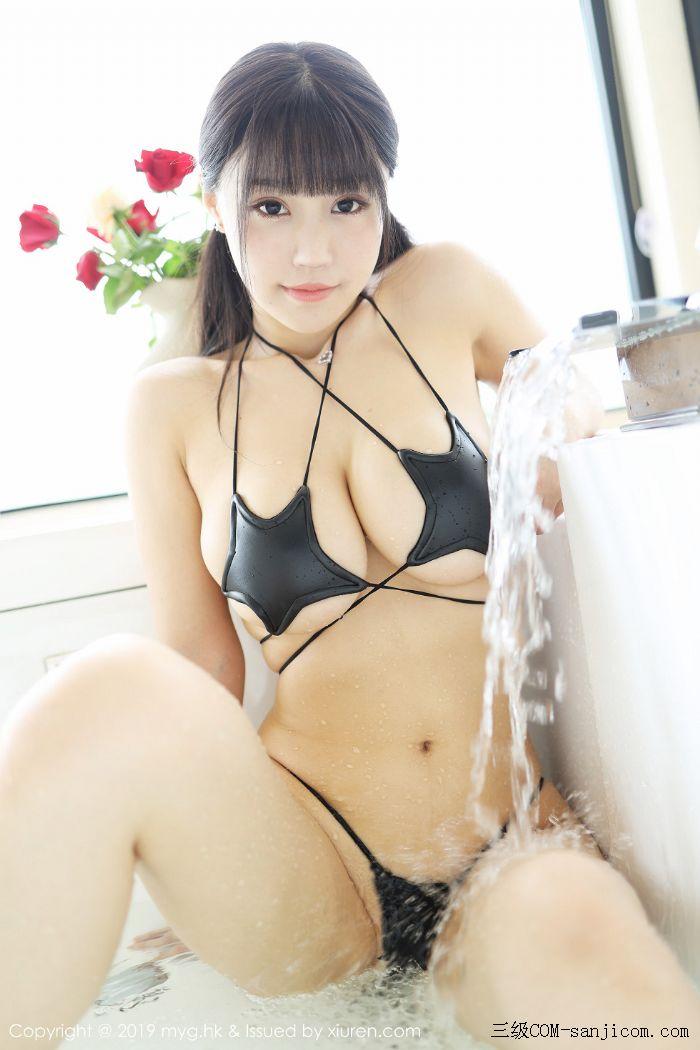 [MyGirl美媛馆]Vol.400_嫩模Flower朱可儿大理旅拍浴室里黑色情趣内衣完美诱惑写真[19/45]