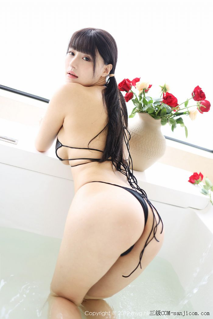 [MyGirl美媛馆]Vol.400_嫩模Flower朱可儿大理旅拍浴室里黑色情趣内衣完美诱惑写真[35/45]