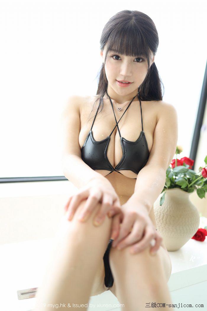 [MyGirl美媛馆]Vol.400_嫩模Flower朱可儿大理旅拍浴室里黑色情趣内衣完美诱惑写真[45/45]