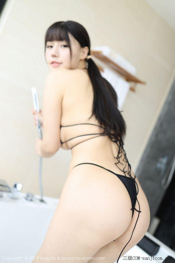 [MyGirl美媛馆]Vol.400_嫩模Flower朱可儿大理旅拍浴室里黑色情趣内衣完美诱惑写真[6/45]