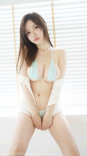 [MyGirl美媛馆]Vol.402_嫩模糯美子Mini私房三点式内衣秀丰乳肥臀销魂诱惑写真[50P]