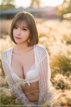 美丽靓女杨晨晨sugar外拍 草丛中着白色内衣[31P]