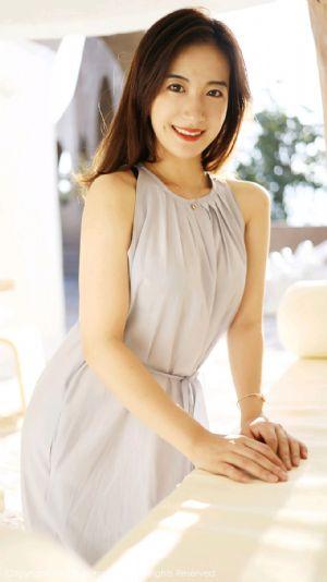 [XiuRen秀人网]No.1660_嫩模艺儿拿铁户外白色长裙清新甜美风格靓丽迷人写真[57P]