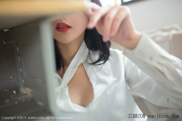 [XiuRen秀人网]No.1690_嫩模就是阿朱啊全裸遮胸魅惑教师制服白衬衣配无内黑丝裤袜诱惑写真[37/108]