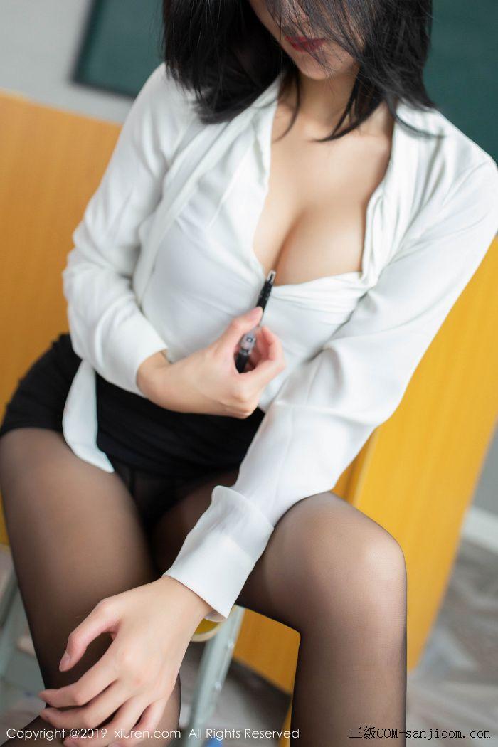 [XiuRen秀人网]No.1690_嫩模就是阿朱啊全裸遮胸魅惑教师制服白衬衣配无内黑丝裤袜诱惑写真[59/108]