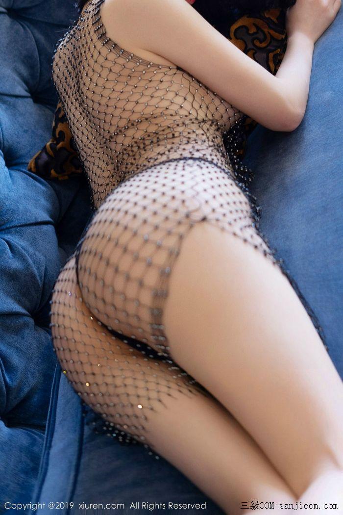 [XiuRen秀人网]No.1696_女神周于希Sandy黑色束胸情趣内衣+黑色金缕衣全裸翘臀撩人诱惑写真[41/60]