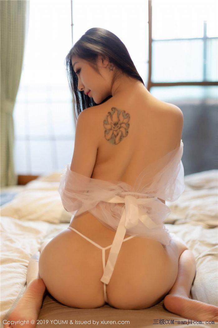 [YouMi尤蜜荟]Vol.271_女神妲己_Toxic白色薄纱浴室全裸遮胸秀出丰乳肥臀写真[11/41]
