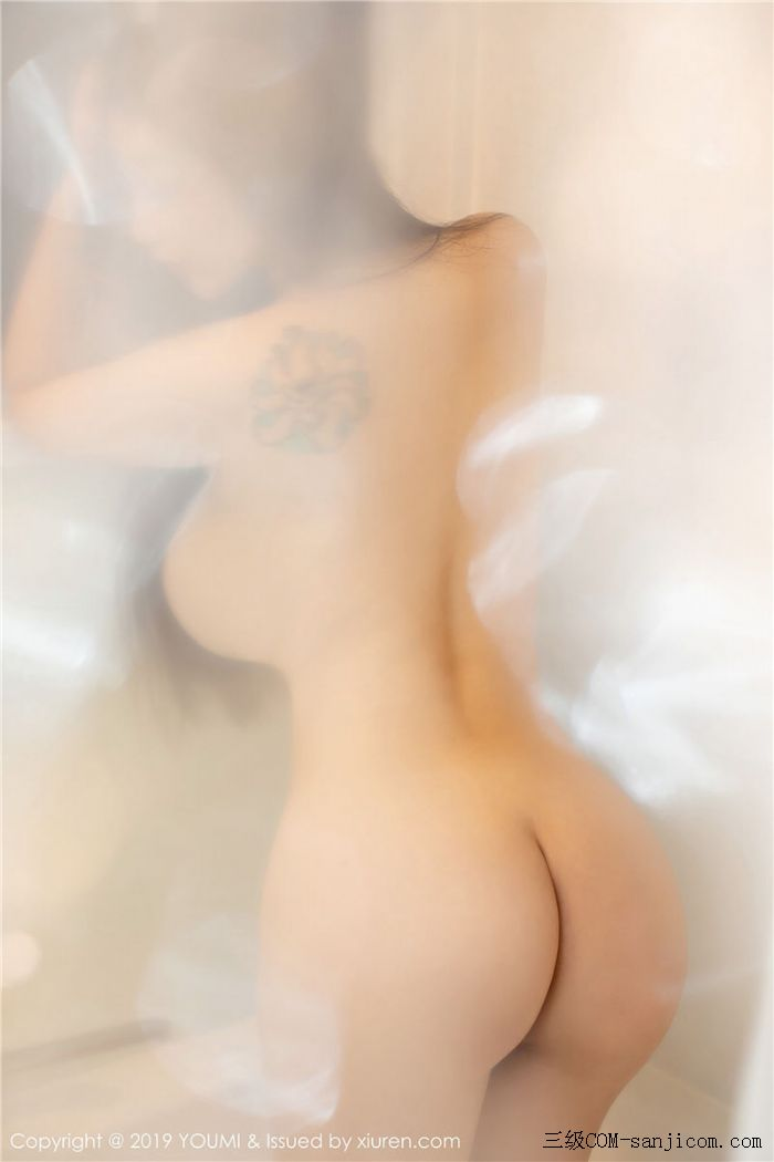 [YouMi尤蜜荟]Vol.271_女神妲己_Toxic白色薄纱浴室全裸遮胸秀出丰乳肥臀写真[33/41]