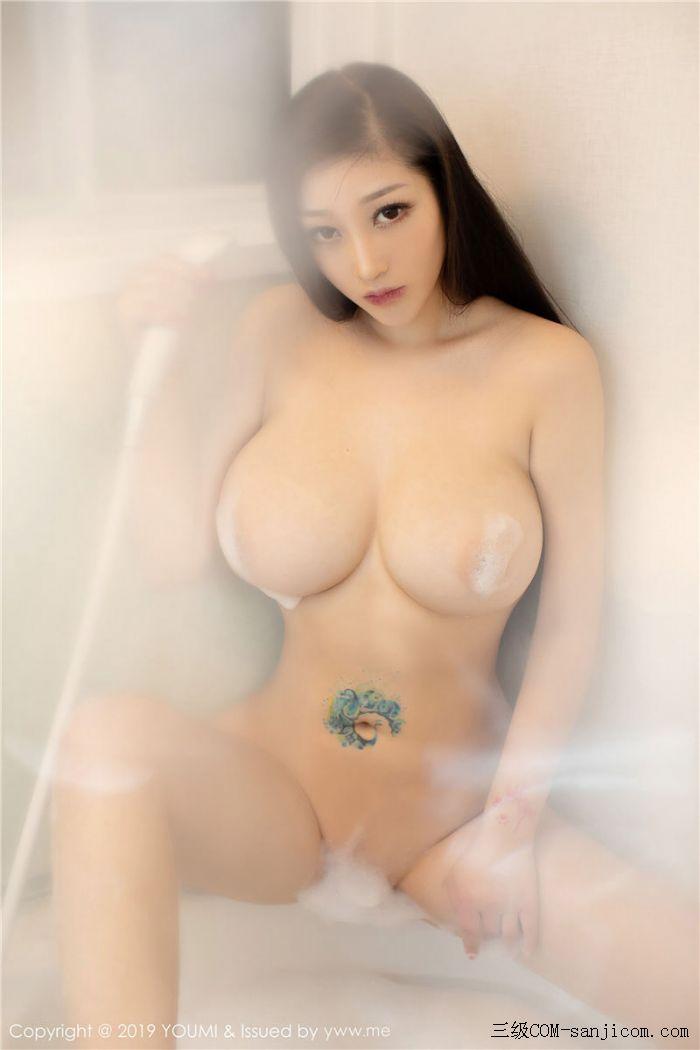 [YouMi尤蜜荟]Vol.271_女神妲己_Toxic白色薄纱浴室全裸遮胸秀出丰乳肥臀写真[40/41]