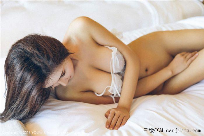 [YouMi尤蜜荟]Vol.306_女神SOLO-尹菲白色透视蕾丝内衣秀出完美身材[13/45]