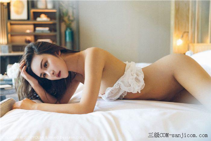 [YouMi尤蜜荟]Vol.306_女神SOLO-尹菲白色透视蕾丝内衣秀出完美身材[20/45]